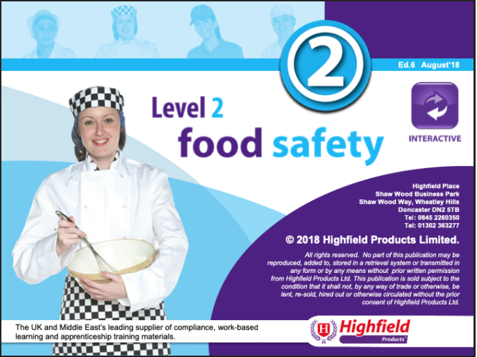 Level 2 in Food Safety in Retail - Horizon Risk Consultancy - Health