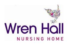 wren nursing home logo