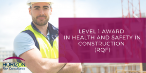 Level 1 health and safety in construction