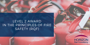 Highfield Level 2 Award in the Principles of Fire Safety (RQF)