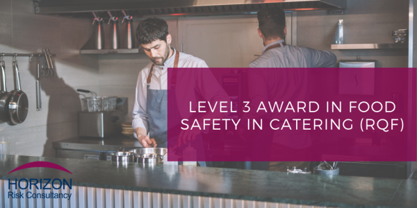 Level 3 food safety catering