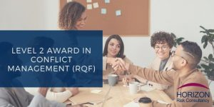 Highfield Qualifications Level 2 Award in Conflict Management (RQF)